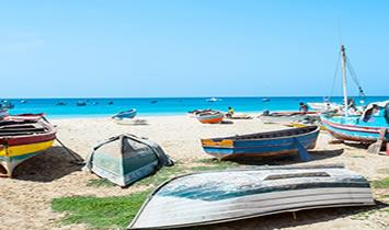 Cabo Verde Isla de Sal Agosto