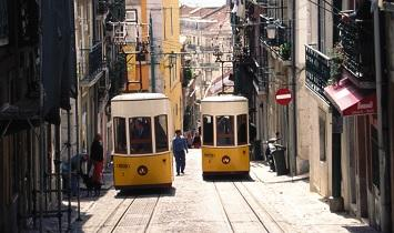 Lisboa Puente Diciembre con avión
